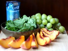 Peach Coconut Dream - Simple Green Smoothies 30 day green smoothie challenge