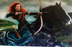 Merida- Annie Leibovitz Disney series