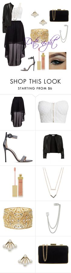 """""""date night"""" by maroshan on Polyvore featuring NLY Trend, Maglie I Blues, AERIN, Michael Kors, Charlotte Russe, French Connection, Sole Society, MICHAEL Michael Kors, women's clothing and women's fashion"""