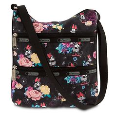 Zip all your small travel essentials into Minnie's handy Kylie Bag by LeSportsac.