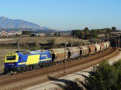 Renfe 333.381 Prima Continental Rail + Cerealero Canfranc/Martorell