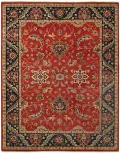 Save On Eminence Red Rugs Choose Beautiful Hand Knotted Traditional From Capel America S Rug Company