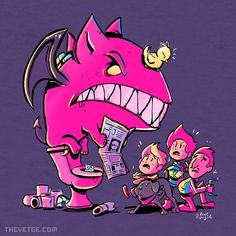 The Little Chimera\'s Room By Kevin Fagaragan, today at The Yetee!