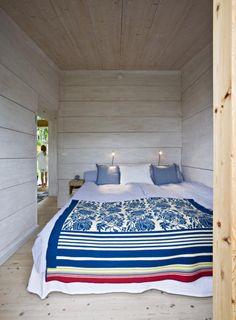 Sovrum i sommarstuga