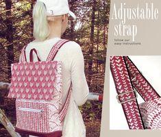 Lightweight, Designer Backpack: Hawthorne Threads | Sew4Home
