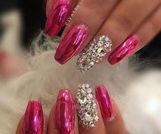 and cute nail art designs 2017 cool and cute nail art designs 2017 - style you 7 . shweshwe 2017 dressescool and cute nail art designs 2017 - style you 7 . Glam Nails, Hot Nails, Fancy Nails, Bling Nails, Beauty Nails, Hair And Nails, Fabulous Nails, Gorgeous Nails, Stylish Nails