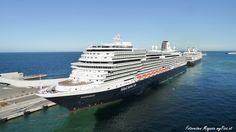 Die MS Koningsdam ist das neueste Kreuzfahrtschiff der Holland America Line.