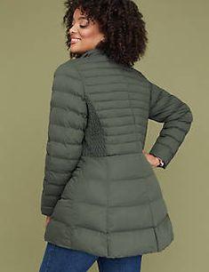 a0d5d2f9e089c Stretch Puffer Jacket - Ivy Green