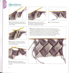 What is Entrelac knitting? How to Entrelac Knitting | Knitting Unlimited