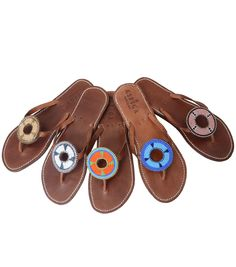 Travel in Style with Aspiga's Handmade leather sandals and luxury beachwear. Leather Sandals, Flat Sandals, Fashion Flats, Women's Fashion, Beaded Sandals, Dream Shoes, Palm Beach Sandals, Miller Sandal, Womens Flats