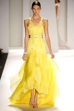 Carolia Herrera Spring gown