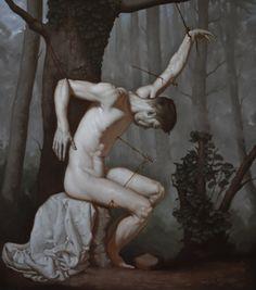 San Sebastiano by Michelangelo Della Morte