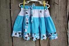 Girls Size 3 Twirl Skirt. $22.00, via Etsy.
