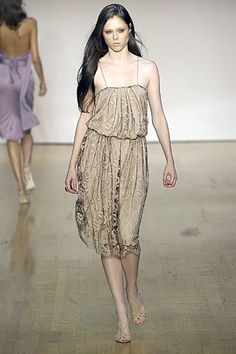 Costello Tagliapietra Spring 2007 Ready-to-Wear Fashion Show - Coco Rocha