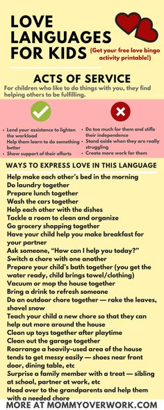 Learn THE FIVE 5 LOVE LANGUAGES FOR KIDS by Gary Chapman 100 fun ideas to bond with and improve the relationship with your baby or children Words of affirmation physical. Gentle Parenting, Kids And Parenting, Foster Parenting, Peaceful Parenting, Natural Parenting, Parenting Humor, Parenting Advice, Parenting Classes, Parenting Styles