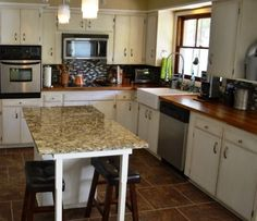 My Kitchen Mistake: 4 Lessons from a First-Time Kitchen Re-modeler. This is a GREAT article for everyone attempting a DIY kitchen remodel !