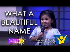 What a Beautiful Name - YouTube Little Girl Singing, Woman Singing, Bible Songs For Kids, What A Beautiful Name, Christian Songs, Christian Quotes, Name Covers, Worship The Lord, Worship Songs