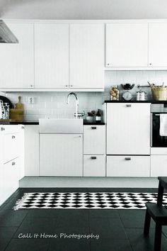 White kitchen // CALL It HOME