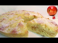 Tejszínes és almás töltelékkel, a kedvenc süteményem! # 317 - YouTube Greek Recipes, Fruit Recipes, Dessert Recipes, Cooking Recipes, Healthy Recipes, Desserts, Lemon Cookies, Cake Cookies, Cupcakes