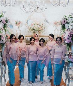 Modern Kebaya, Modern Hijab, Kebaya Brokat, Batik Kebaya, Dress Pesta, Kebaya Muslim, Organza Dress, Hijab Fashion, Women's Fashion