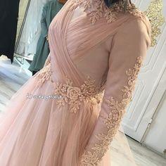 59 ideas for makeup wedding muslim pakistani bridal Hijab Gown, Hijab Dress Party, Muslim Wedding Dresses, Muslim Dress, Wedding Abaya, Wedding Bride, Simple Dresses, Beautiful Dresses, Nice Dresses