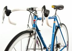 Steel Vintage Bikes - De Rosa Primato Classic Bicycle 1990s