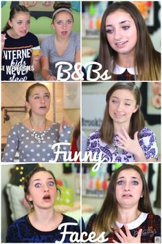 B&Bs Funny Faces