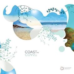 Dreaming of warm water and sunshine on the rainy Melbourne day… Branding we created for 'Coast to Coast' skincare a couple years ago… Happy Friday!