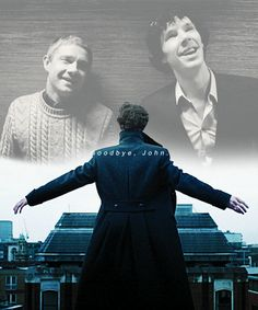 Goodbye John - Sherlock (BBC) gif And this is where I completely lost it and cried for the next 15 min...