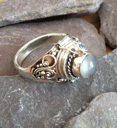Poison Moonstone Ring by PABJewellery, £27.99