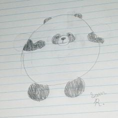 Cute and cuddy Panda fan art from Squishable Fan Sam R! #squishable #plush #fanart