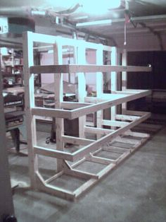lumber rack (freestanding)