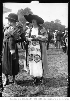 Auteuil, 1919-inspiration for Emmeline's 1919 outfit