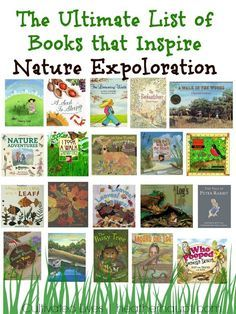 Daisy Step 3 - A beautiful collection of books that will inspire children in their nature explorations! Theme Nature, All Nature, Nature Study, Walking In Nature, Kids Reading, Teaching Reading, Reading Lists, Primary Teaching, Kindergarten Classroom