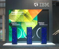 In der Zone Infrastruktur stellt IBM neben den IBM Serverfamilien aktuelle Lösungen der Produktfamilie IBM PureSystems vor.