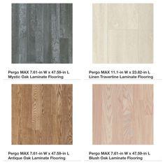 Pergo Elegant Expressions Colors Floor Tile Counter