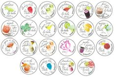 Luxcious customized lip balm deserves these gorgeous customized labels! Girls' Night Flavors -- from champagne and sangria, to cosmopolitan and appletini, get them customized for your bachelorette, bridal or other special occasion party. From Emily Caswell at GCD Spa, Topsham, Maine. (IBN member since June 2006)
