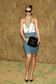 Rihanna and Vintage CoCo Chanel - Now that's what I call fabulous!