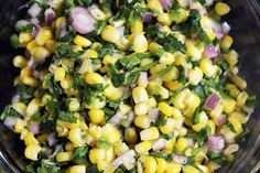 Chipotle's Jalapeno Lime Corn Salad Recipe on Yummly