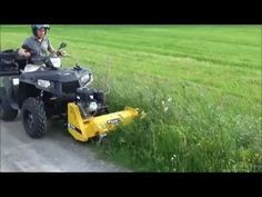 Rammy Flail mower 120 ATV with Side shift kit  Front mower for ATV