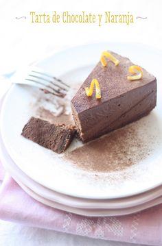 Tarta de Chocolate y Naranja. Chocolate and Orange Mousse Cake with a crunchy choccy digestive base. Orange Mousse, Mousse Cake, Chocolate, Catering, Base, Desserts, Food, Las Palmas, Meals