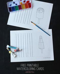 Free Printable Water