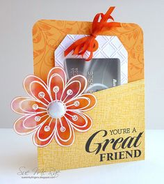 Pocket Gift Card | by Stampin Sue