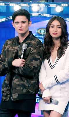 JaDineForItsShowtime (ctto) Cute Relationship Goals, Cute Relationships, Lady Luster, Ranz Kyle, Movie Talk, Filipina Beauty, James Reid, Nadine Lustre, Jadine