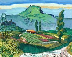 Südfranzösische Landschaft. / Max Pechstein