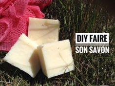 my homemade soap Diy Savon, Homemade Cosmetics, Green Life, Home Made Soap, Soap Making, Coconut Oil, Goodies, Fragrance, Simple