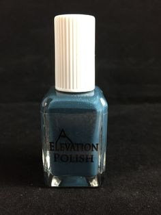 SBP: 4:30AM on a Tuesday  Description: Dusty teal creme packed with purple, silver and blue glass flecks.