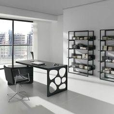 oficina-con-muebles-negros