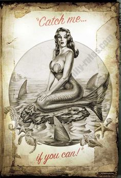 Catch me if you can! #mermaid