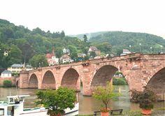 Old Bridge over the Neckar river, Heidelberg